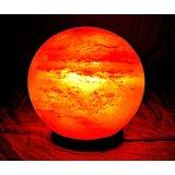 Lámpara de sal Roca del Himalaya Bola de sal de fuego