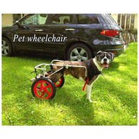 Silla de ruedas para perros Hwt