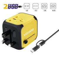 VGUARD All-in-one Universal Multi-socket